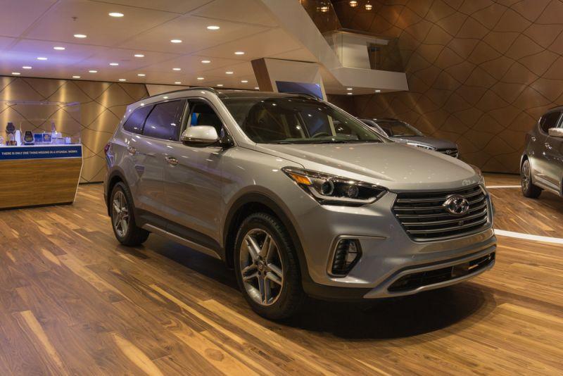 Hyundai Santa Fe SE Ultimate
