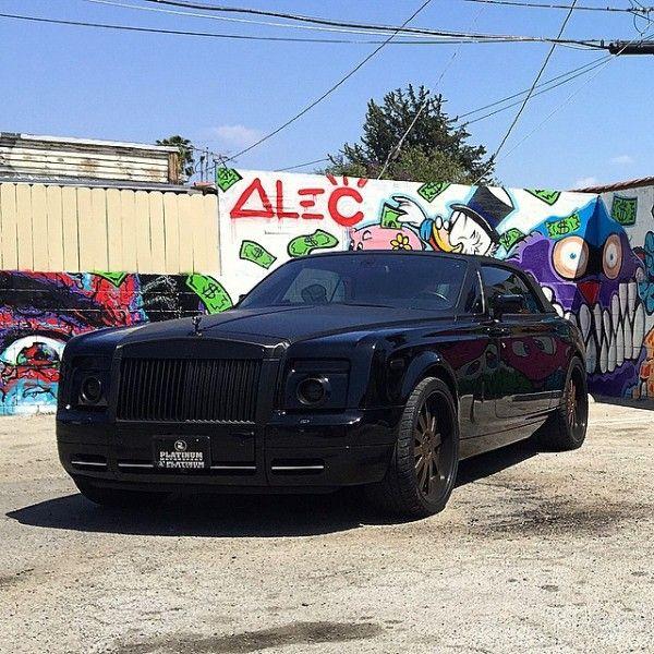 Alec Monopoly's Rolls-Royce Phantom Drophead Coupe