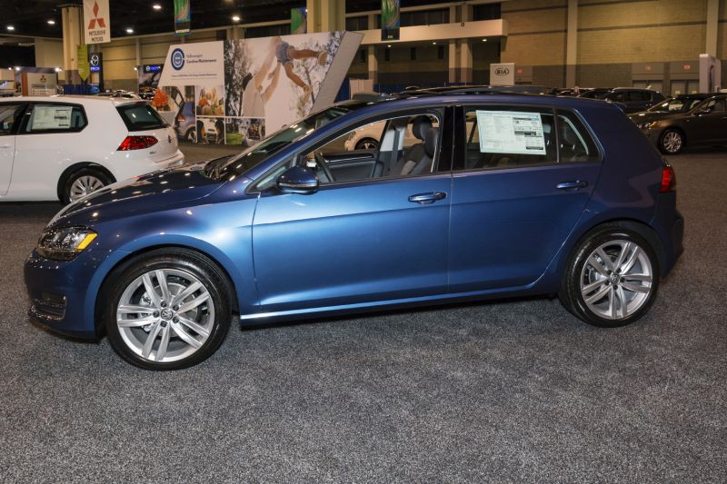 Volkswagen Golf: 1.8 liter Turbocharged Four Cylinder