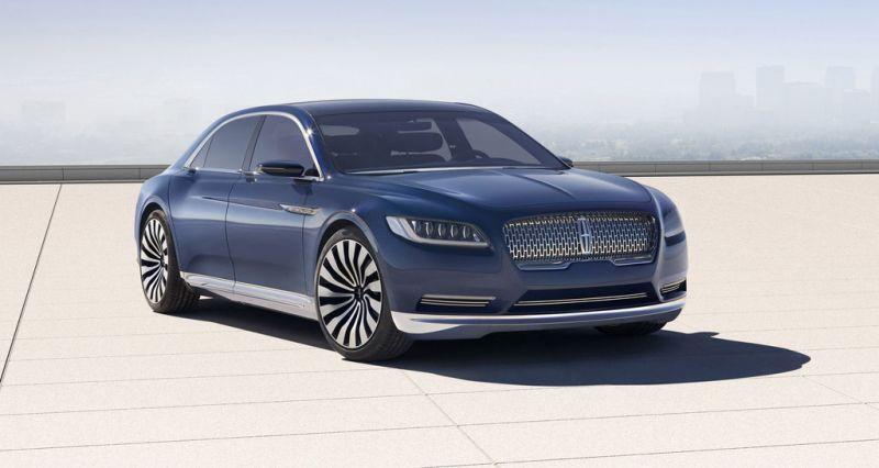 Lincoln Continental um espetacular carros 2017