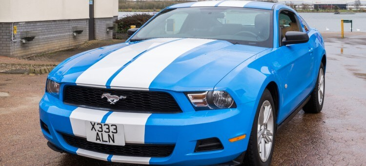 6,000 Ford Mustangs Recalled Due To Door Issues